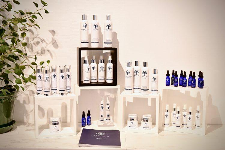 Produktställ med produkter från Circadia