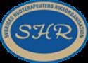 SHR logotyp - Sveriges hudterapeuters riksorganisation